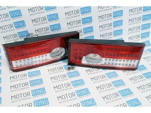 Задние диодные фонари красно-белые на ВАЗ 2108, 2113, 2109, 2114, 21099_1