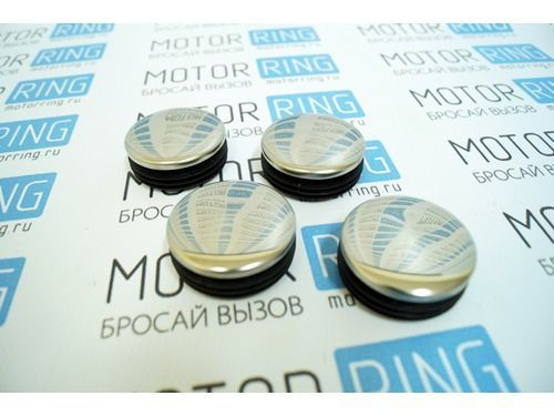 Комплект хромированных заглушек ступицы колеса ВАЗ 2108-21099, 2113-2115_1