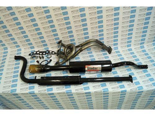 Выпускной комплект с глушителем для ВАЗ 2108-099 8V, Subaru Sound Стингер_1