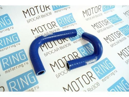 Патрубки печки силиконовые синие на ВАЗ 2101-2107 карбюратор_1
