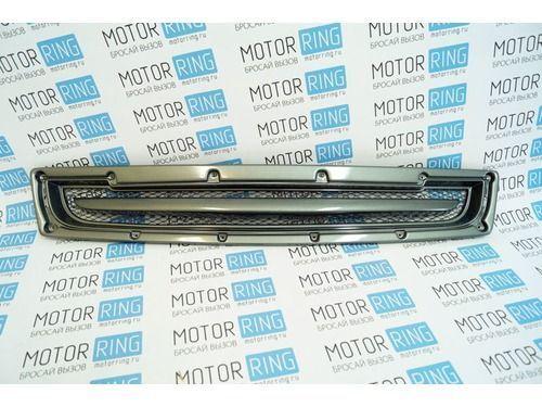 Нижняя решетка переднего бампера для Лада Приора SE в цвет автомобиля_1