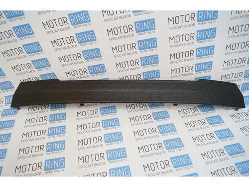 Зимняя защита радиатора в нижнюю решетку бампера для Лада Гранта с бампером нового образца (заглушка на зиму)_1