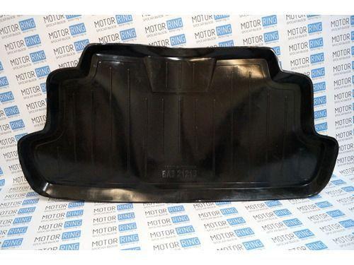 Пластиковый коврик в багажник короткой Лада 4х4 Нива (ВАЗ 2121)_1