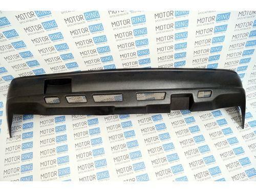 Задний бампер с сеткой на ВАЗ 2101, 2103, 2106 неокрашенный_1
