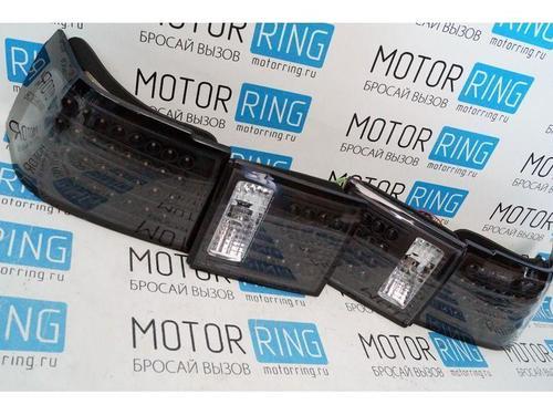 ХалявING! Задние диодные фонари ProSport RS-04086 черные на ВАЗ 2110, 2112_1