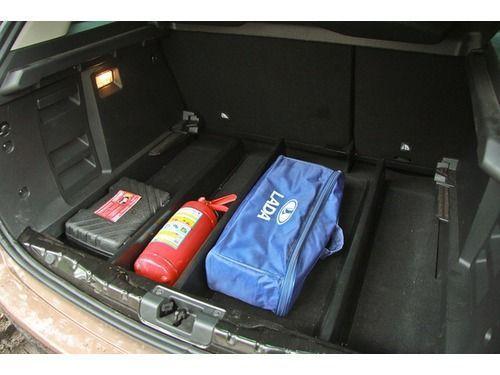 Органайзер (делитель) в багажник на Лада Икс Рей_1