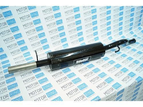 Глушитель прямоточный для ВАЗ 2112 купе без насадки для штатной установки_1