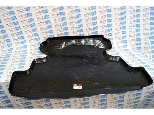 Пластиковый коврик в багажник 5-дверной Лада 4х4 Нива (ВАЗ 2131) после 2016 г.в_1