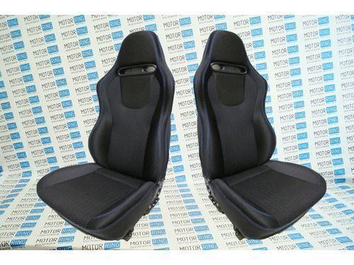 Комплект анатомических сидений VS Омега на Лада Калина_1