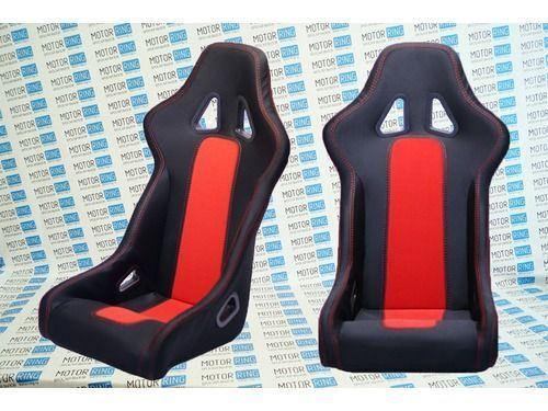 Комплект анатомических спортивных сидений VS Ковш Классика на ВАЗ 2104, 2105, 2107_1