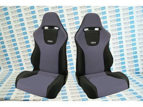 Комплект анатомических сидений VS Вега Самара на ВАЗ 2108-21099, 2113-2115_1