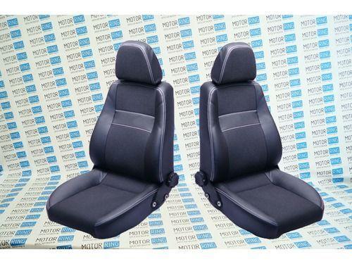 Комплект анатомических сидений VS Комфорт Самара на ВАЗ 2108-21099, 2113-2115_1