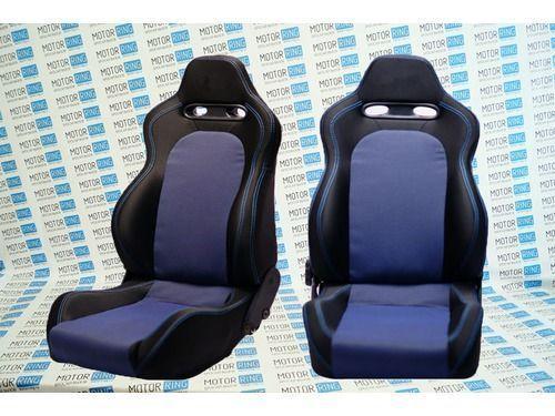 Комплект анатомических сидений VS Дельта Самара на ВАЗ 2108-21099, 2113-2115_1