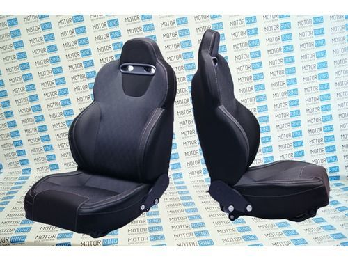 Комплект анатомических сидений VS Кобра Самара на ВАЗ 2108-21099, 2113-2115_1