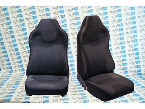 Комплект анатомических сидений VS Карбон на ВАЗ 2110-2112_1