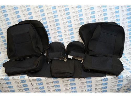 Заводская обивка сидений (не чехлы) на ВАЗ 2110_1