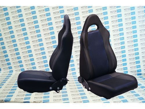 Комплект анатомических сидений VS Форсаж на Шевроле Нива_1