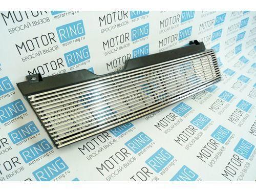 Решётка радиатора тонкие хром линии на ВАЗ 2108-21099_1