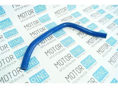 Патрубок сапуна силиконовый синий на ВАЗ 2104-2107 инжектор_1
