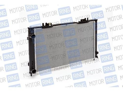 Оригинальный алюминиевый радиатор охлаждения двигателя на Лада Приора_1