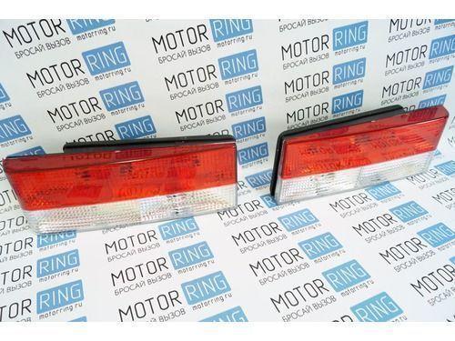 Задние фонари с красной полосой на ВАЗ 2108-21099, 2113, 2114_1