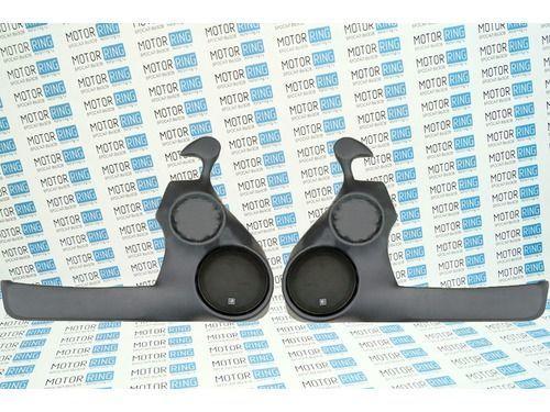 Подиумы 2-х компонентные 16х16см с твитером на передние двери ВАЗ 2110-2112_1