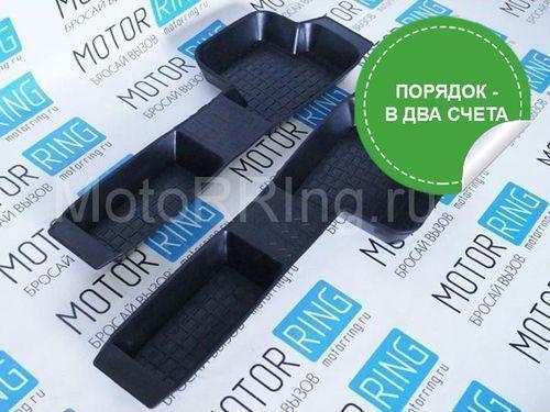 Боковые резиновые коврики пола на Лада Приора, ВАЗ 2110, 2111, 2112_1