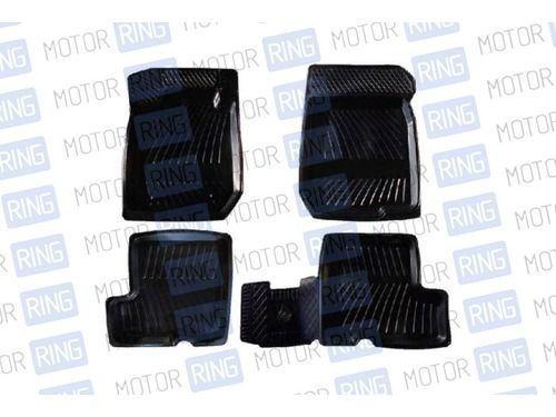 Комплект ковриков салонных резиновых RВS-0022-0023R на Renault Sandero_1