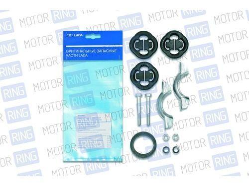 Комплект системы подвески глушителя на ВАЗ 2108-21099, 2113-2115_1