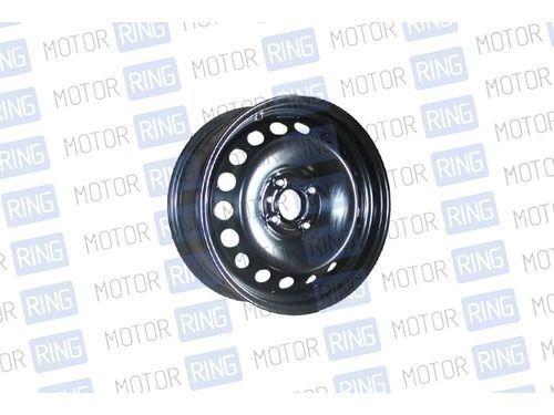 Диск колеса 6/15 4*100 ет40 d60.1 B (00) В СБОРЕ (черное покрытие) на Лада Ларгус, Renault Logan 2_1
