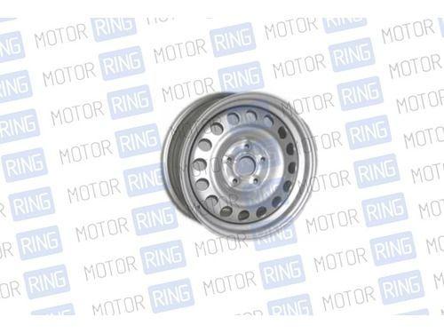 Диск колеса 6/15 4*100 ет40 d60.1 B (00) В СБОРЕ (серебристое покрытие) на Лада Ларгус, Renault Logan 2_1