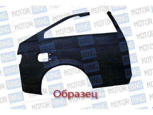 Крыло заднее правое в сборе с рамкой люка наливной горловины на ВАЗ 21123 купе_1