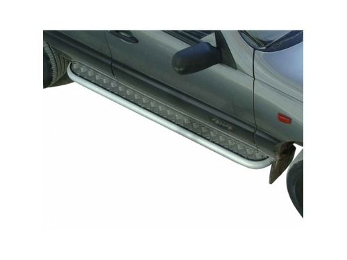 Пороги 0110 с алюминиевым листом для Шевроле Нива_1