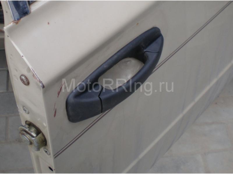 Наружные евро ручки дверей Тюн-Авто неокрашенные на Нива 2121_2