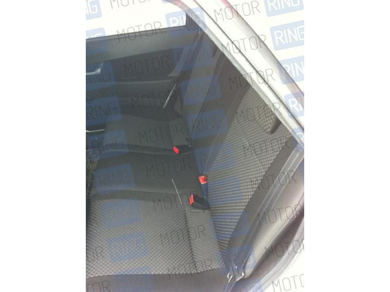 Обивка сидений (не чехлы) черная Ультра на ВАЗ 2110_3
