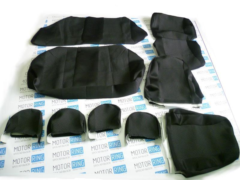 Обивка сидений (не чехлы) черная Ультра на ВАЗ 2108-21099, 2113-2115_2