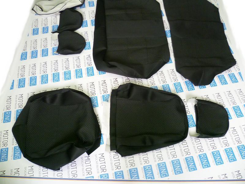Обивка сидений (не чехлы) черная Ультра на ВАЗ 2108-21099, 2113-2115_6