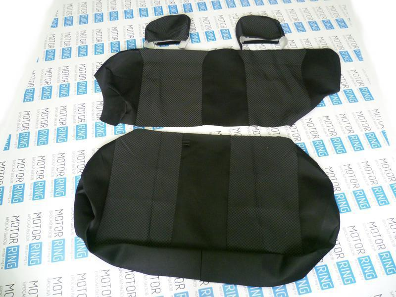 Обивка сидений (не чехлы) черная Ультра на ВАЗ 2108-21099, 2113-2115_5