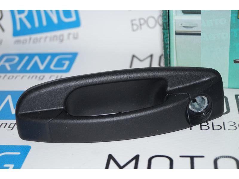 Наружные евро ручки дверей Тюн-Авто неокрашенные на Нива 2121_3