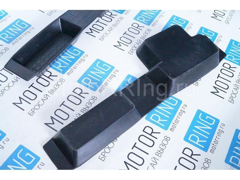 Боковые резиновые коврики пола на Лада Приора, ВАЗ 2110, 2111, 2112_4