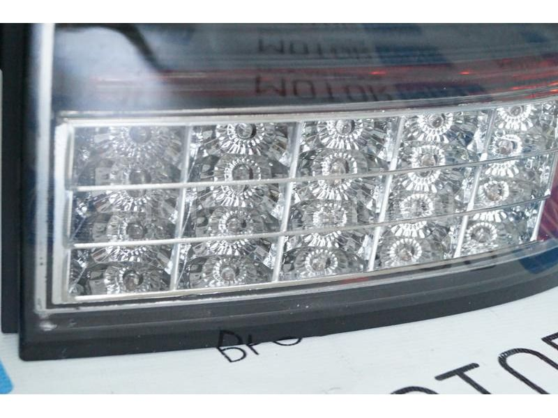 Задние диодные фонари Techno, тонированные для Лада Приора_4
