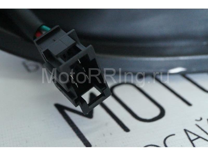 Задние диодные фонари Techno, тонированные для Лада Приора_7