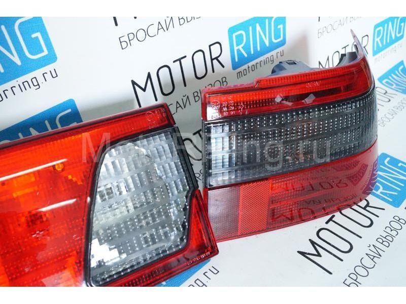 Оригинальные фонари ОСВАР «клюшка» с тонированной полосой для ВАЗ 2110_3
