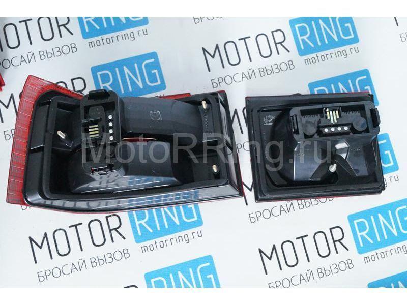 Оригинальные фонари ОСВАР «клюшка» с тонированной полосой для ВАЗ 2110_8
