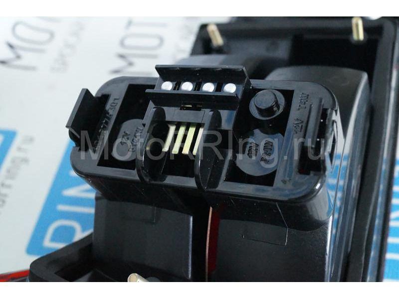Оригинальные фонари ОСВАР «клюшка» с тонированной полосой для ВАЗ 2110_9
