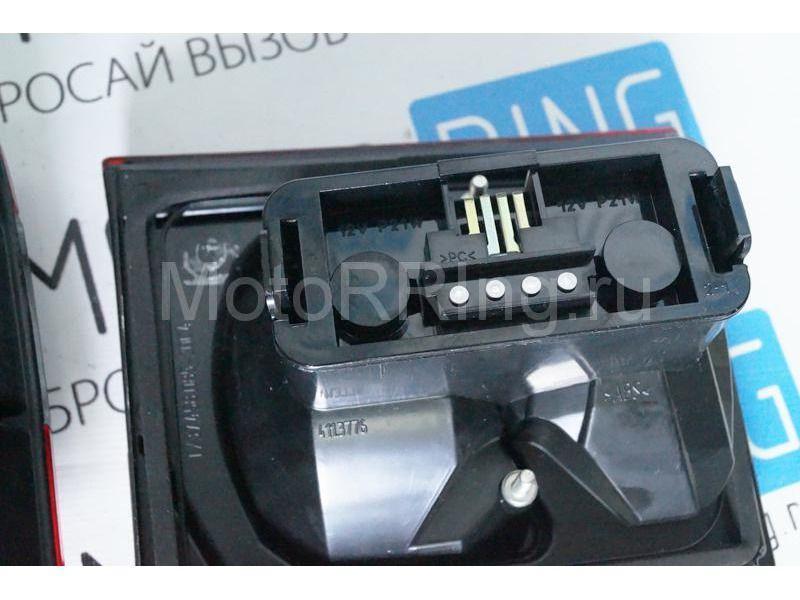 Оригинальные фонари ОСВАР «клюшка» с тонированной полосой для ВАЗ 2110_10