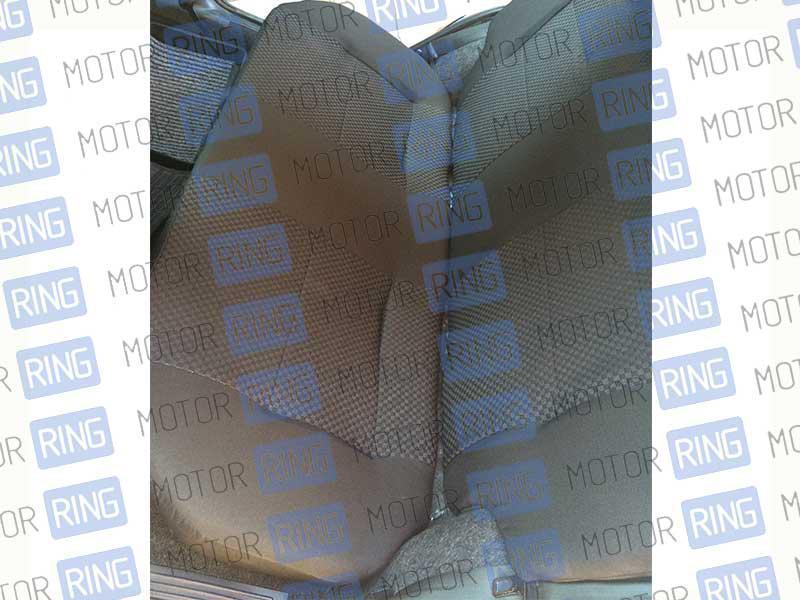 Обивка сидений (не чехлы) черная Ультра на ВАЗ 2108-21099, 2113-2115_13