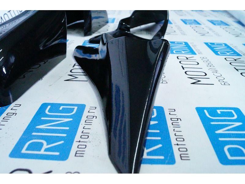 Накладки на зеркала Кураж 3 в цвет на ВАЗ 2110, 2111, 2112_5