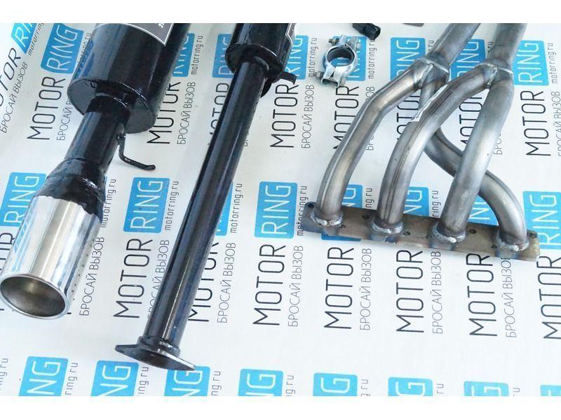 Выпускной комплект Стингер с глушителем на ВАЗ 2110-2112 16 кл 1.5 л_2