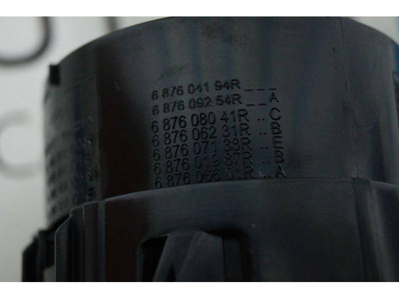 Сопло воздуховода с хром кольцом от Nissan Almera для Лада Гранта, Калина 2_6